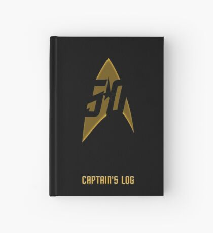 Captain's Log Hardcover Journal
