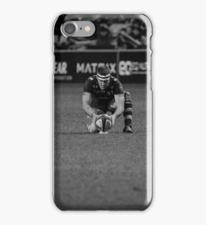 Jimmy Gopperth - the lonely goal kicker iPhone Case/Skin