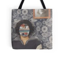 Mirrored on Wall Tote Bag