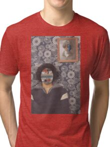 Mirrored on Wall Tri-blend T-Shirt