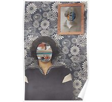 Mirrored on Wall Poster