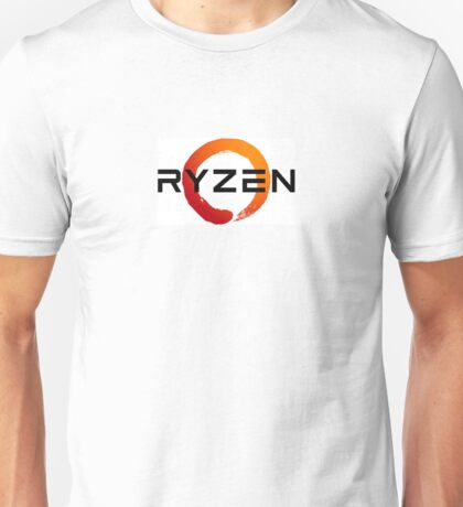 AMD Ryzen Black Unisex T-Shirt