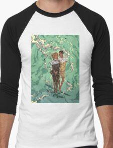 Till the Sky and Back Men's Baseball ¾ T-Shirt