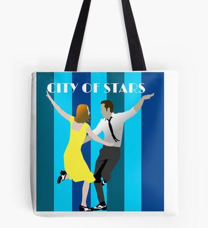 City of Stars La La La Land Jazz Musical Tote Bag