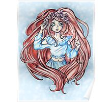 Rose Red - Original Character Traditional Art Poster