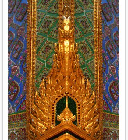 Wat Pho In Bangkok, Thailand Sticker