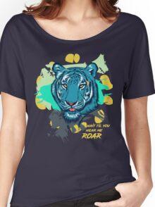 TIGER ROAM Women's Relaxed Fit T-Shirt