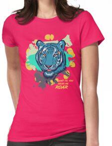 TIGER ROAM Womens Fitted T-Shirt