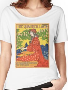 Vintage poster - The Quartier Latin Women's Relaxed Fit T-Shirt