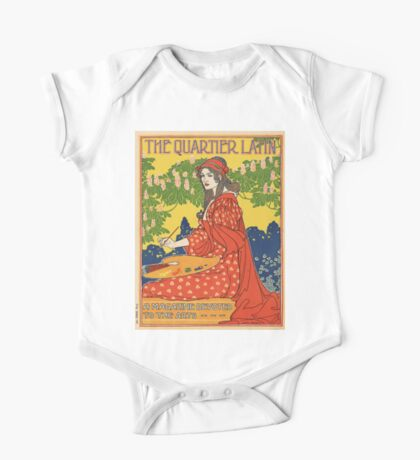 Vintage poster - The Quartier Latin One Piece - Short Sleeve
