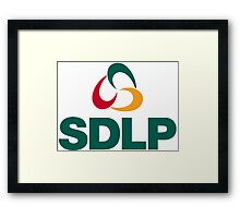 Social Democratic and Labour Party Logo Framed Print