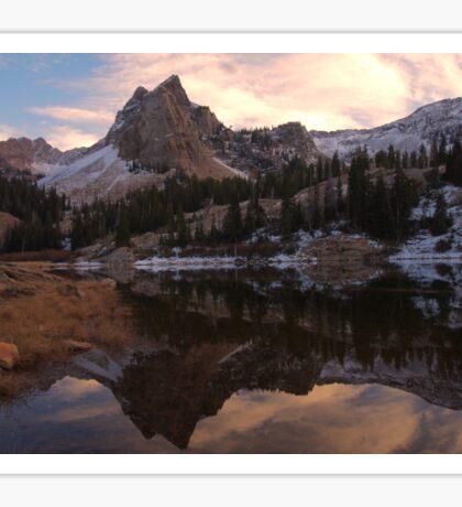 Sundial Peak, Lake Blanche  Sticker
