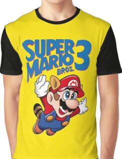 Super Mario Bros. 3 Graphic T-Shirt
