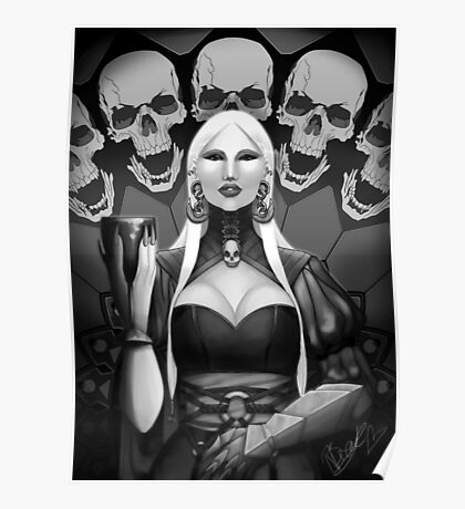 Gothic Woman. Poster