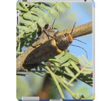 Metalic Wood-boring Beetle iPad Case/Skin