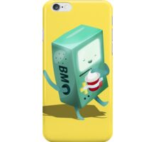 Oh BMO, how'd you get so pregnant? iPhone Case/Skin