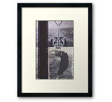 Old Film Framed Print