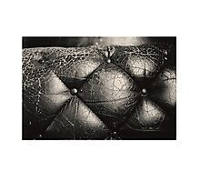 Chesterfield black and white Photographic Print