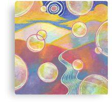 Bubble Landscape Canvas Print