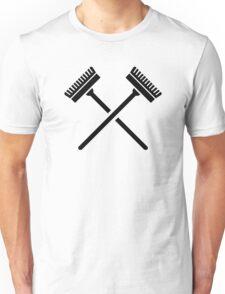 Crossed broom Unisex T-Shirt