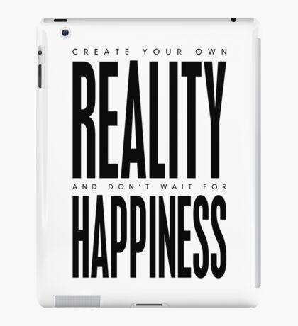 Reality - Black & White iPad Case/Skin