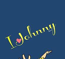 I love Johnny Bravo Amazing Design  by zeeshanahmad88