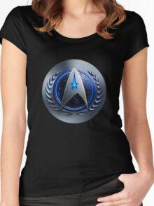 United Federation of Planets - Starfleet Command Women's Fitted Scoop T-Shirt