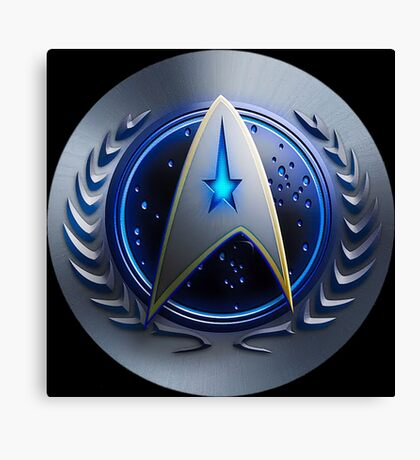 United Federation of Planets - Starfleet Command Canvas Print