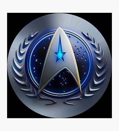 United Federation of Planets - Starfleet Command Photographic Print