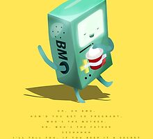 Oh BMO, how'd you get so pregnant? by Cloakandbadger