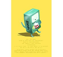 Oh BMO, how'd you get so pregnant? Photographic Print