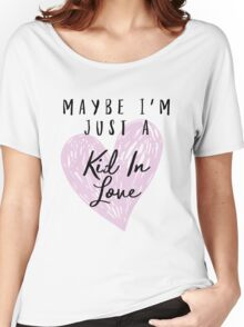 Shawn Mendes - Kid In Love Women's Relaxed Fit T-Shirt