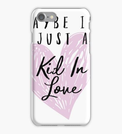Shawn Mendes - Kid In Love iPhone Case/Skin
