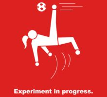 Experiment In Progress - Soccer (Clothing) Baby Tee