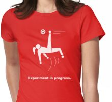 Experiment In Progress - Soccer (Clothing) Womens Fitted T-Shirt