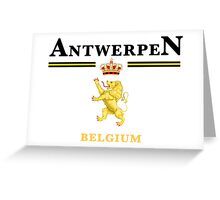 Antwerpen, Belgium Greeting Card