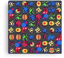 Pixel Mush Canvas Print