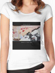 """Ammarnäs"" by Florianne Vuillamy Women's Fitted Scoop T-Shirt"