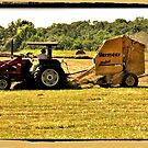 """""""Burnin' Daylight and makin' Hay""""... prints and products by © Bob Hall"""