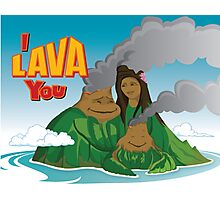I Lava You Photographic Print