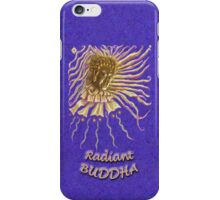 Golden Radiant Buddha iPhone Case/Skin