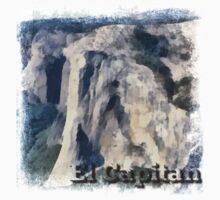 Rock Climbing Yosemite El Capitan Abstract Kids Clothes