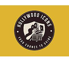 Hullywood Icons Logo Photographic Print