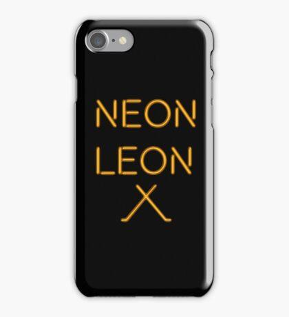 Neon Leon iPhone Case/Skin