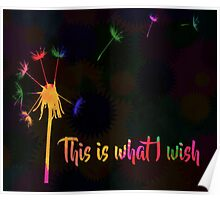 This is what I wish Poster