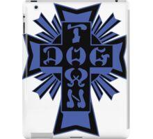 DogTown, Logo - Blue and Black iPad Case/Skin