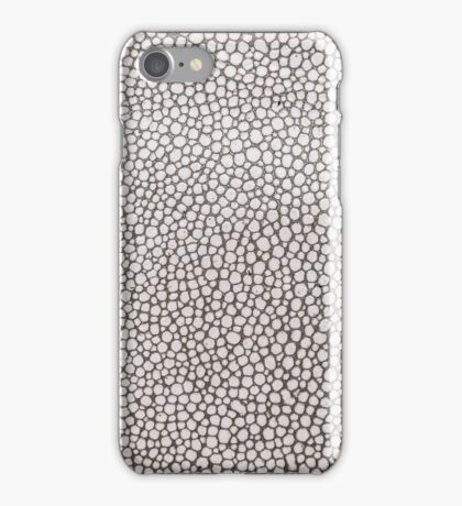 Leather texture closeup iPhone Case/Skin