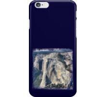 Rock Climbing Yosemite El Capitan Abstract iPhone Case/Skin