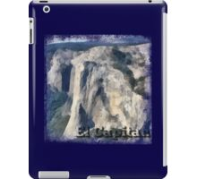 Rock Climbing Yosemite El Capitan Abstract iPad Case/Skin