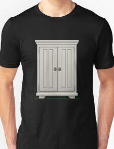 Glitch furniture mediumcabinet basic white medium cabinet T-Shirt
